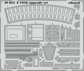 Eduard F-104G upgrade set (Eduard, Hasegawa)