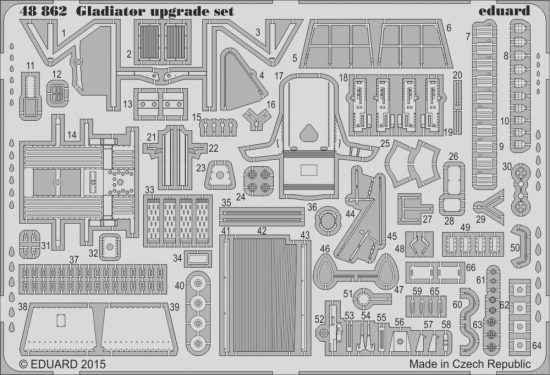 Eduard Gladiator upgrade set (Eduard)