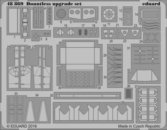 Eduard Dauntless upgrade set (Eduard)