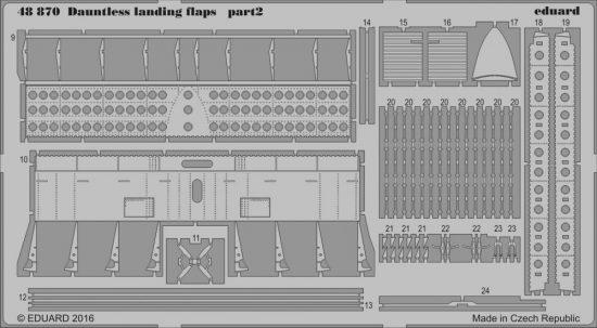 Eduard Dauntless landing flaps (Eduard)