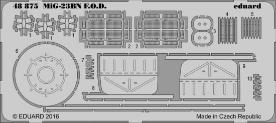 Eduard MiG-23BN F.O.D. (Trumpeter)