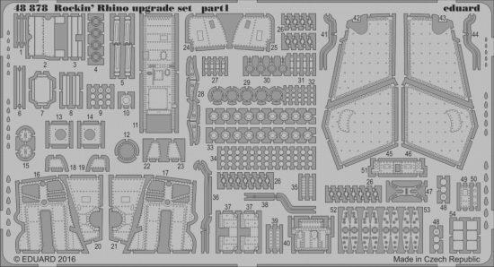 Eduard Rockin' Rhino upgrade set (Eduard)
