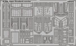 Eduard Super Étendard exterior (Kinetic)