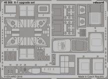 Eduard X-1 upgrade set (Eduard)