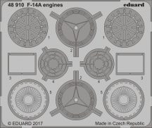 Eduard F-14A engines (Tamiya)