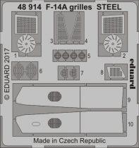 Eduard F-14A grilles STEEL (Tamiya)