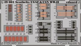 Eduard Seatbelts USAF & USN WWII