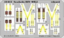 Eduard Seatbelts RFC WWI