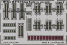 Eduard B-17G seatbelts (Revell)