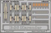 Eduard B-26 seatbelts (Revell)