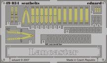 Eduard Lancaster seatbelts (Tamiya)