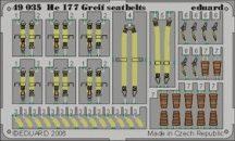 Eduard He 177 Greif seatbelts (Mpm)