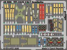 Eduard F-104G GQ-7 seatbels (Hasegawa)