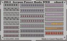 Eduard German Panzer Ranks WWII