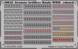 Eduard German Artillery Ranks WWII