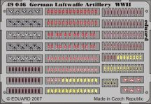 Eduard German Luftwaffe Artilery WWII