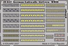 Eduard German Luftwaffe Air Crew WWII