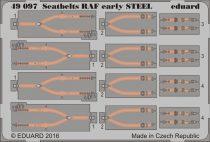 Eduard Seatbelts RAF early STEEL
