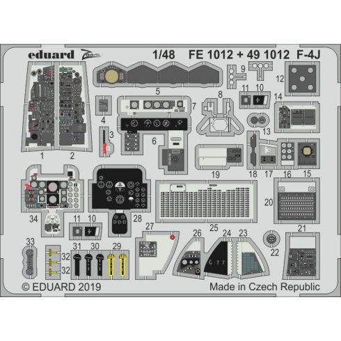 Eduard F-4J interior (Academy)