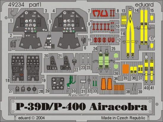 Eduard P-39D/P-400 (Eduard)