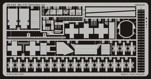 Eduard He 111 interior (Revell)