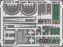 Eduard F-18E interior (Hasegawa)