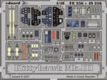 Eduard Kittyhawk Mk.III (Hasegawa)