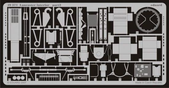 Eduard Lancaster interior (Tamiya)