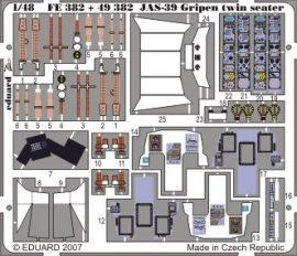 Eduard JAS-39D Gripen Two-seater S.A. (Italeri)