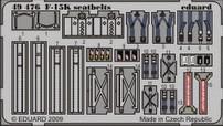 Eduard F-15K seatbelts (Academy)