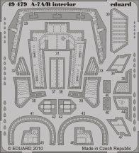 Eduard A-7A/B interior S.A. (Hobby Boss)
