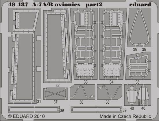 Eduard A-7A/B avionics (Hobby Boss)