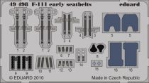 Eduard F-111 early seatbelts (Hobby Boss)