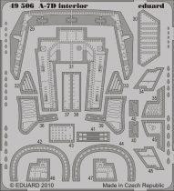 Eduard A-7D interior S.A. (Hobby Boss)