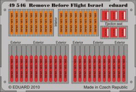 Eduard Remove Before Flight - Israel