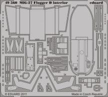 Eduard MiG-27 Flogger D interior S.A. (Italeri)