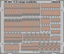 Eduard C-2 cargo seatbelts (Kinetic)