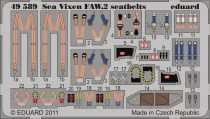 Eduard Sea Vixen FAW.2 seatbelts (Airfix)