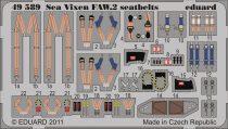 Eduard Sea Vixen FAW.2 seatbelts (Airfix)