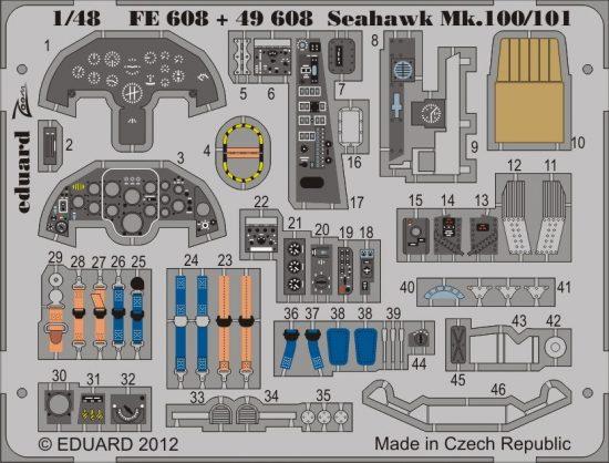 Eduard Seahawk Mk.100/101 S.A. (Trumpeter)