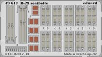Eduard B-29 seatbelts (Revell)