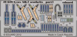 Eduard Lynx AH.7 seatbelts (Airfix)