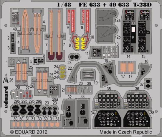 Eduard T-28D S.A. (Roden)