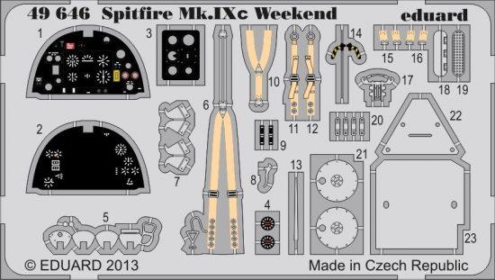 Eduard Spitfire Mk.IXc Weekend (Eduard)