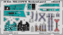 Eduard MiG-21PFM Weekend (Eduard)