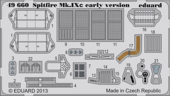 Eduard Spitfire Mk.IXc early version (Eduard)