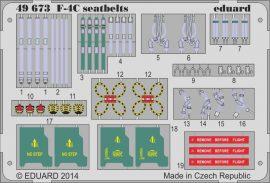 Eduard F-4C seatbelts (Academy)