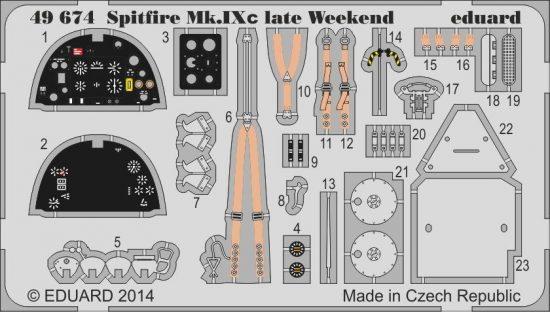 Eduard Spitfire MK.IXc late Weekend (Eduard)