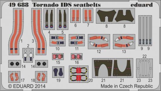 Eduard Tornado IDS seatbelts (Revell)
