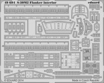 Eduard S-30M-2 Flanker interior S.A. (Academy)